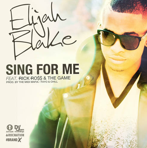 elijah blake sing for me that grape juice she is diva1 New Song: Elijah Blake   Sing For Me (Ft Rick Ross & The Game)
