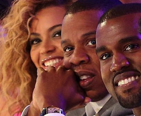kanye jay z beyonce1 Must Hear: Beyonce & Jay Z   Drunk In Love (Kanye West Remix)