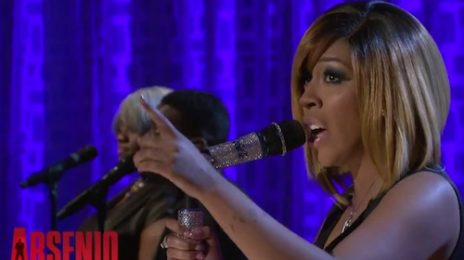 K. Michelle Claps Back At Haters & Performs 'Can't Raise A Man' On 'Arsenio'
