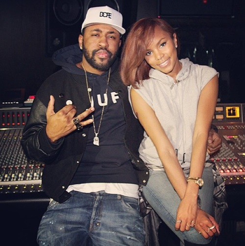 letoya luckett mike will Hot Shots: LeToya Luckett Hits Studio With Future & Mike WIll Made It