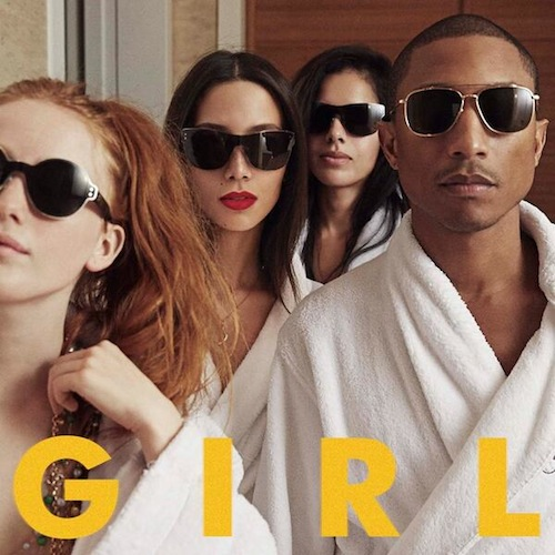 pharrell williams girl album cover Winning Williams: Pharrell Tops UK Album Chart / Breaks Sales Record