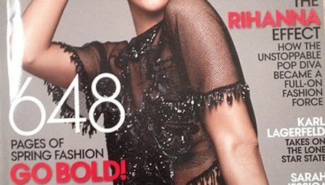 Hot Shot: Rihanna Rocks Third 'Vogue' Cover