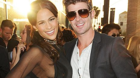 Breaking:  Robin Thicke & Actress Paula Patton Announce Separation