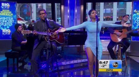 Watch: Toni Braxton & Babyface Rock 'Good Morning America'