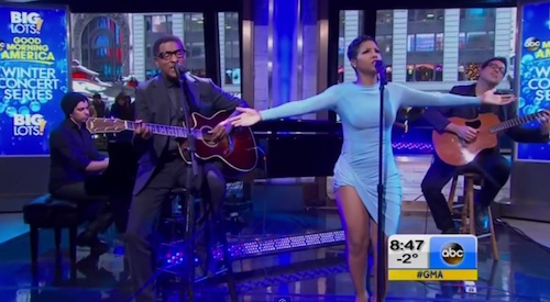 toni braxton babyface gma Watch: Toni Braxton & Babyface Rock Good Morning America