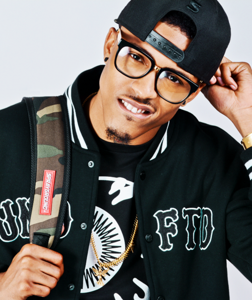 August Alsina that grape juice television 5 Def Jam Diaries: August Alsina Strips Off For Urban Ink