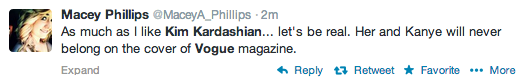 Screen Shot 2014 03 21 at 19.55.31 Oh No! Vogue Readers Slam Kim Kardashian & Kanye West Cover / Threaten To Cancel Subscriptions