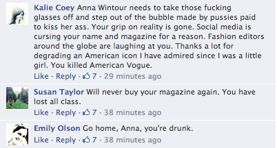 Screen Shot 2014 03 21 at 20.08.35 Oh No! Vogue Readers Slam Kim Kardashian & Kanye West Cover / Threaten To Cancel Subscriptions