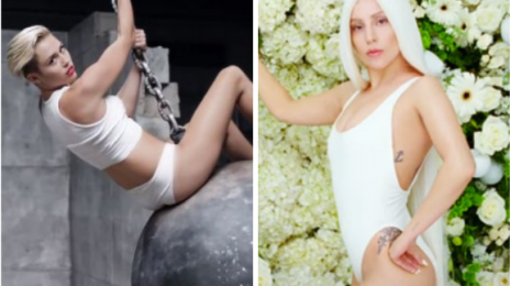 Weigh In:  Will Lady Gaga's 'G.U.Y.' Video Break Miley Cyrus' VEVO Viewership Records?