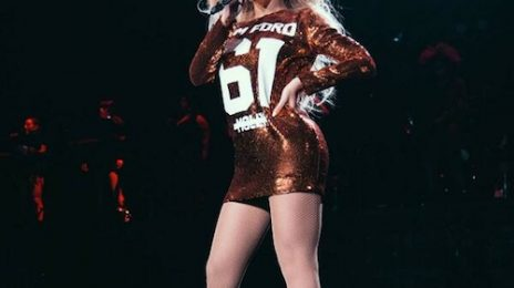 Hot Shot: Beyonce Debuts Edgy New Outfit At 'The Mrs Carter Show'