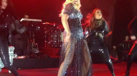 Hot Shots: Christina Aguilera Rocks Malaysia Pregnant