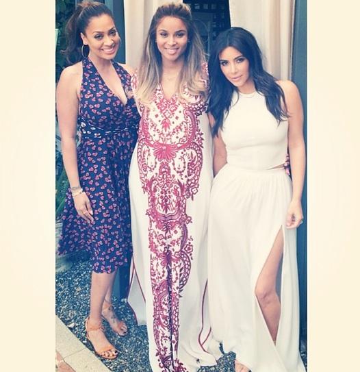 ciara kim kardashian lala baby Ciara Celebrates Baby Shower With La La, Kim Kardashian, & More