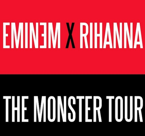 eminem rihanna the monster tour Slim Shady & Slim Talent: Eminem & Rihanna Announce The Monster Tour Dates