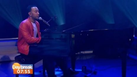 Watch: John Legend Wakes Up 'Daybreak' With 'All Of Me'
