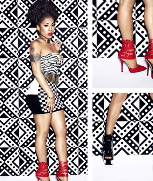 keyshia cole shoe line 4 Keyshia Cole Previews New Music & Shoe Line