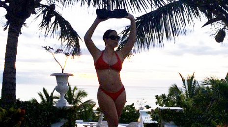 Hot Shots: Mariah Carey Flaunts Bikini Body Abroad