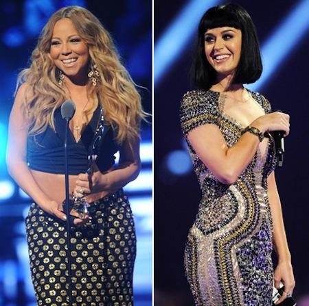 mariah carey katy perry Weigh In: Did Katy Perry Slam Mariah Carey?