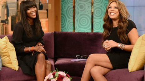 Must See: Naomi Campbell Visits 'Wendy Williams'
