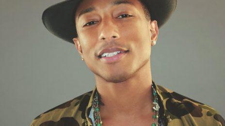 Pharrell Williams Joins 'The Voice'