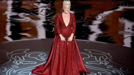 Watch: Pink Soars 'Over The Rainbow' At Oscars 2014