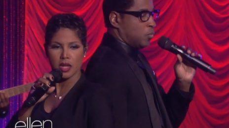 Watch: Toni Braxton & Babyface Perform 'Hurt You' On 'Ellen'