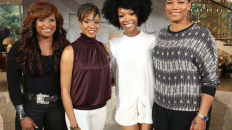 Did You Miss It?:  Brandy Drops By 'Queen Latifah Show' / Confirms New Music & Tour Coming This Year
