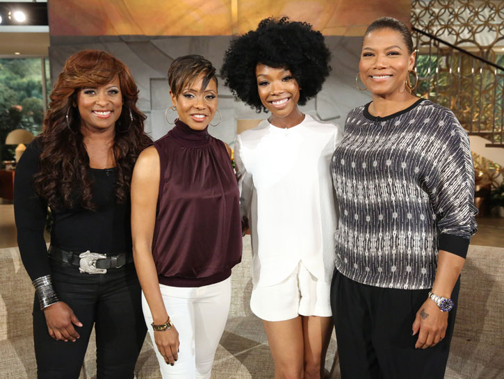 140408 brandy ql mclyte yoyo Did You Miss It?:  Brandy Drops By Queen Latifah Show / Confirms New Music & Tour Coming This Year