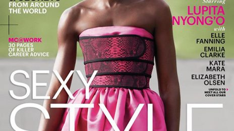Stunning: Lupita Nyong'o Covers 'Marie Claire'
