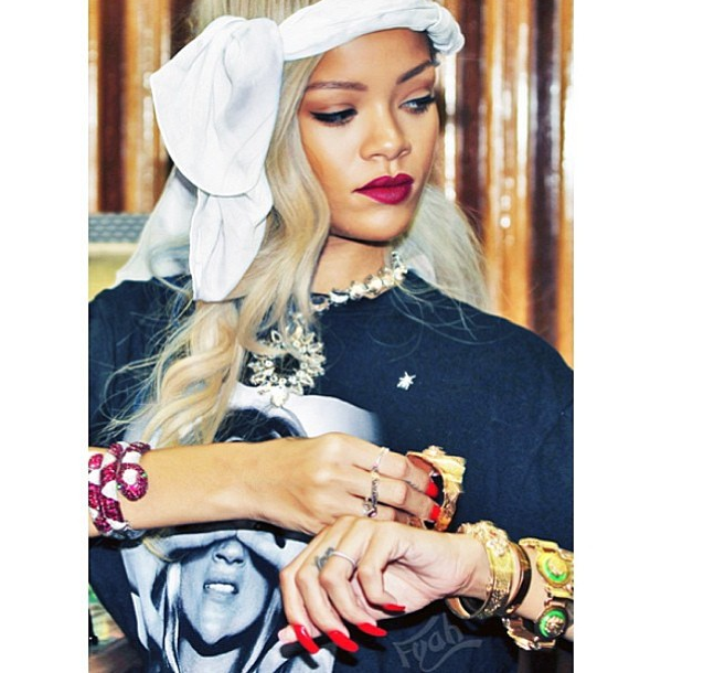 Rihanna That Grape Juice Entertainment 2014 Watch: Drake & Rihanna Party With Ciaras Future