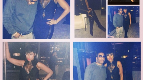 Hot Shots:  Jennifer Hudson Poses It Up With Nelly / Set To Headline LA PRIDE Festival