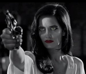 Sin City 2 A Dame To Kill For That Grape Juice 300x259 Movie Trailer: Sin City 2: A Dame To Kill For (Starring Jessica Alba & Lady GaGa)