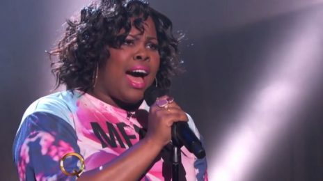 Glee's Amber Riley Performs Debut Single 'Colorblind' On 'The Queen Latifah Show'