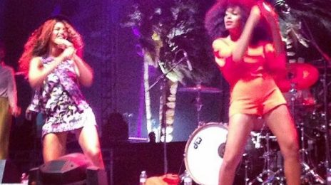 Watch: Beyonce Dances Up A Storm With Solange On Stage At 'Coachella'