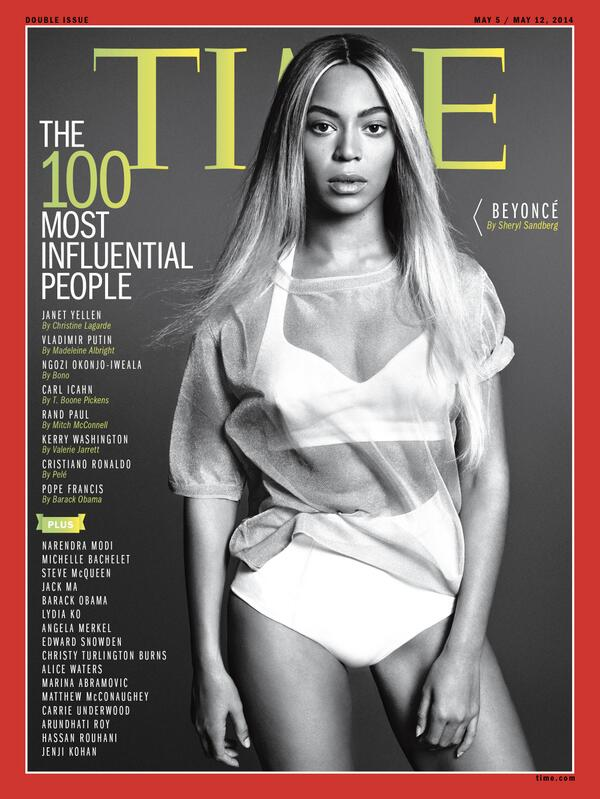 beyonce time thatgrapejuice Beyonce Covers TIME Magazine / Named One Of Worlds Most Influential People