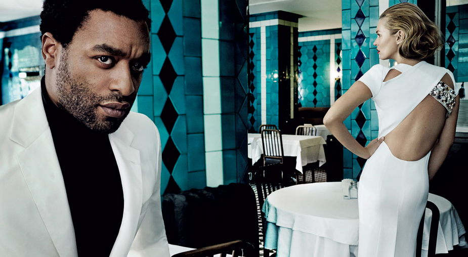 chiwetel ejifor kate moss that grape juice 12 Years A Slave Star Tapped For James Bond Role?