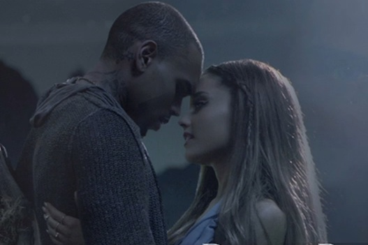 chris brown ariana video Sneak Peek: Chris Brown & Ariana Grande   Dont Be Gone Too Long Video