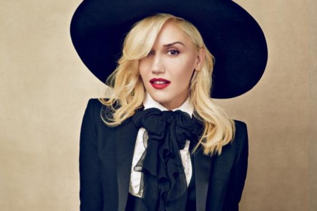 Gwen Stefani posing for Vogue (2013)