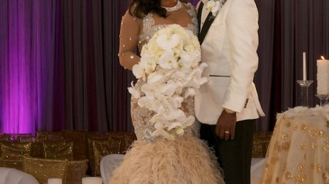 Kandi Burruss & Todd Tucker Share Wedding Snaps With 'In Touch'