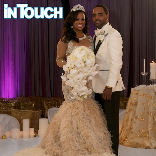 kandi burruss rhoa wedding that grape juicejpg Kandi Burruss & Todd Tucker Share Wedding Snaps With In Touch