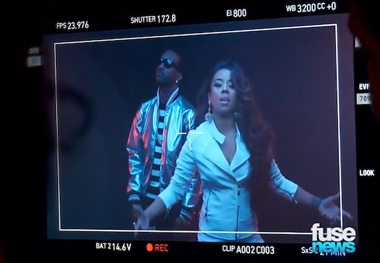 keyshia cole juicy j rick james Behind The Scenes: Keyshia Cole   Rick James Video