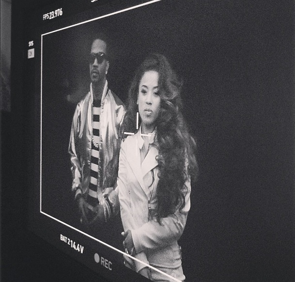 keyshia cole rick james Hot Shot: Keyshia Cole Shoots Rick James Video