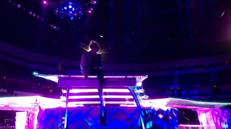 Hot Shot: Lady GaGa Previews 'artRAVE' Tour Stage