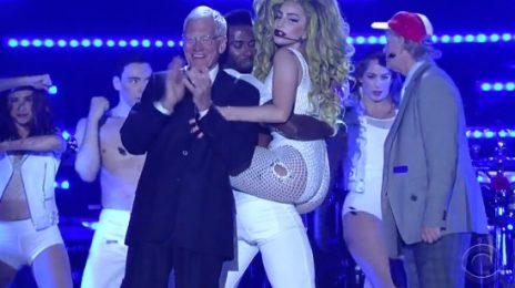 Watch: Lady GaGa Performs 'G.U.Y' On 'Letterman'