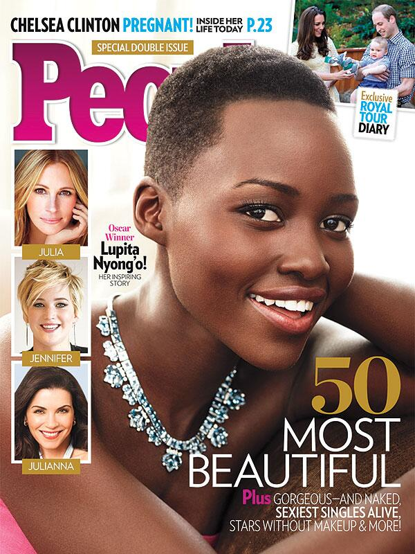 lupita nyongo people thatgrapejuice Lupita Nyongo Named PEOPLEs Most Beautiful Person In The World