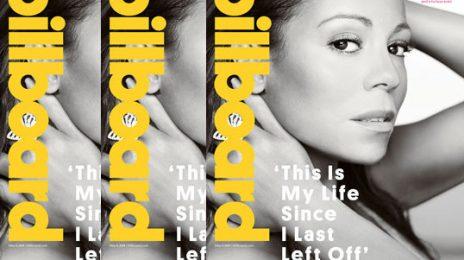 Mariah Carey Covers Billboard / Teases Beyonce-Like Album Release