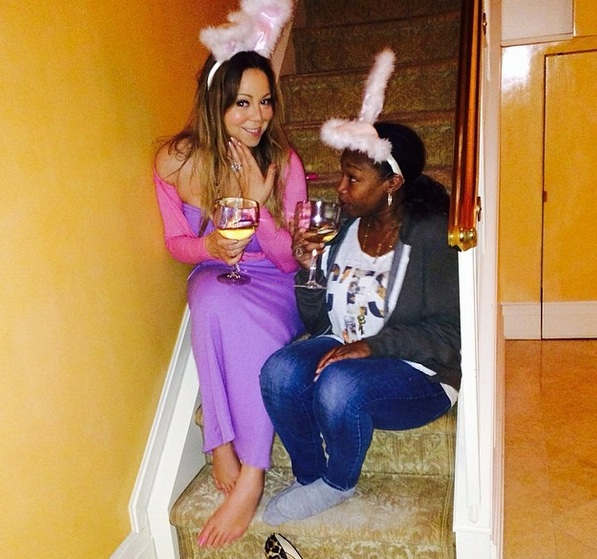 mariah easter 3 Hot Shots: Mariah Carey Celebrates Easter With Family
