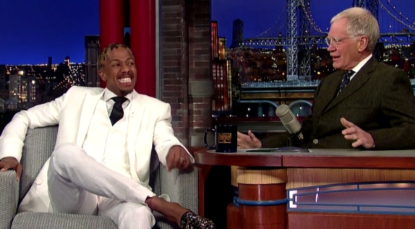 nick cannon letterman Watch: Nick Cannon Dishes On White People Party Music & Fatherhood On Letterman