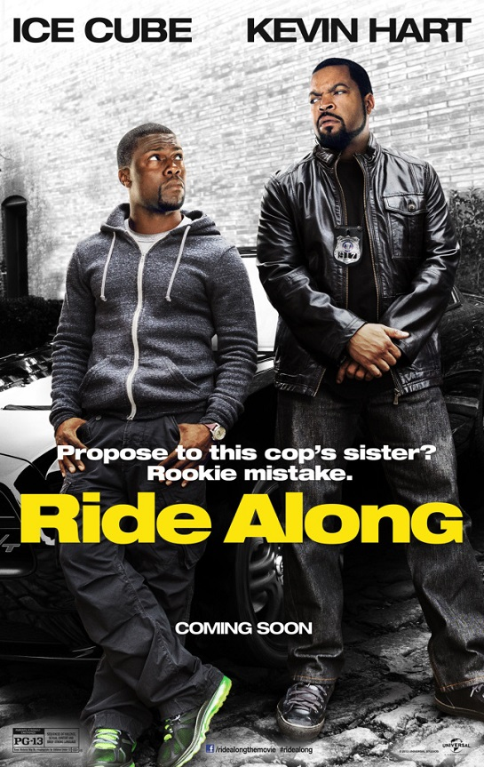 ridealong Competition:  Win A Free Copy of Ice Cube & Kevin Harts Ride Along DVD