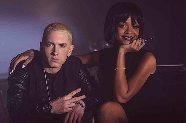 rihanna eminem 2014 mtv Watch: Rihanna & Eminem Perform The Monster At MTV Movie Awards 2014