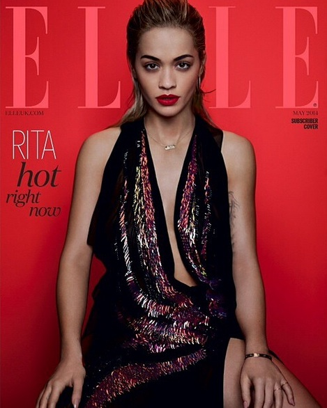 rita ora elle magazine Rita Ora Covers Elle Magazine / Reflects On Debut Album